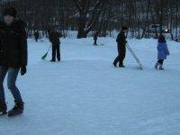 Штурм лыжни и катка в зимние каникулы